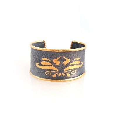 Bangle cuff 24k gold mehmet unver design