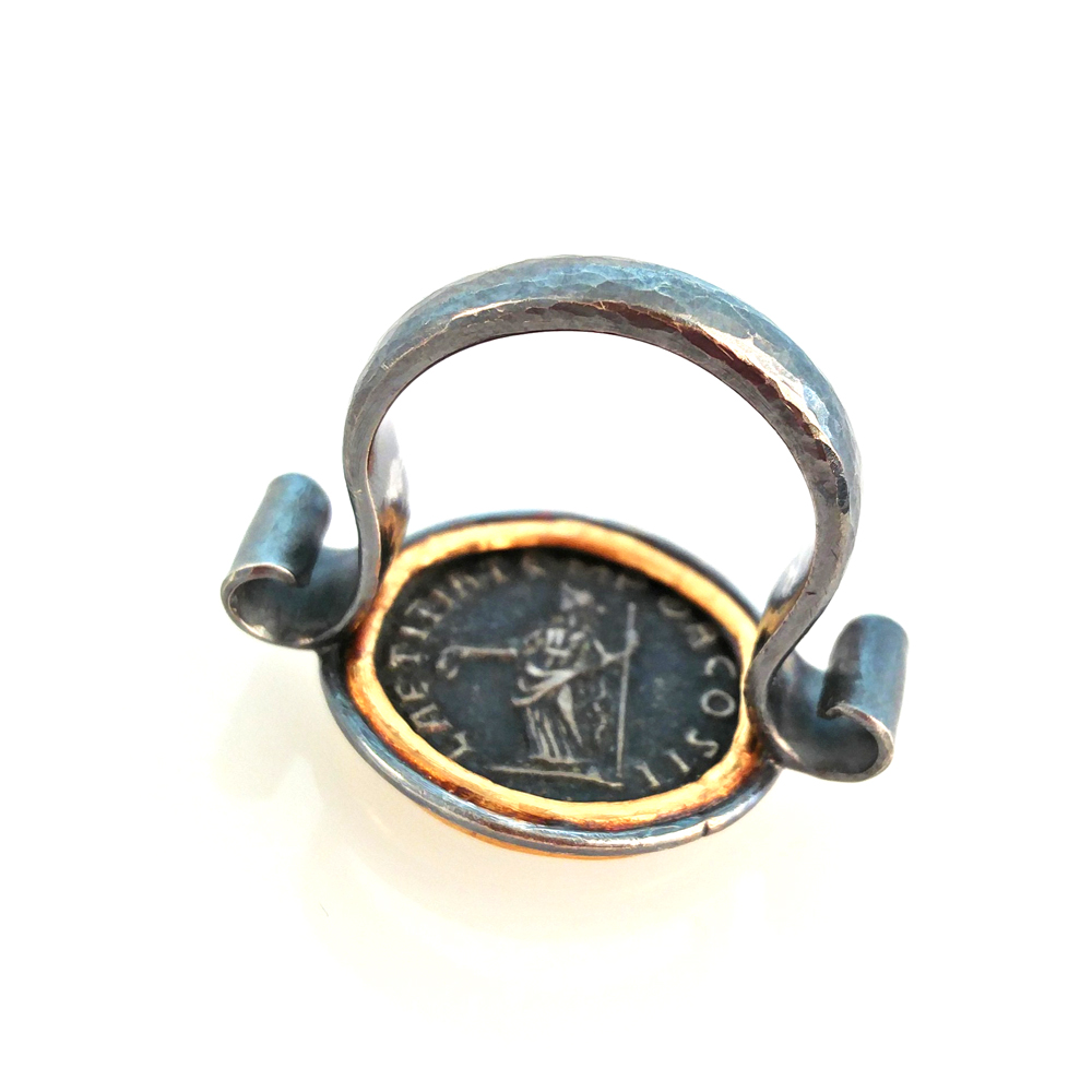 coin ring by mehmet u.